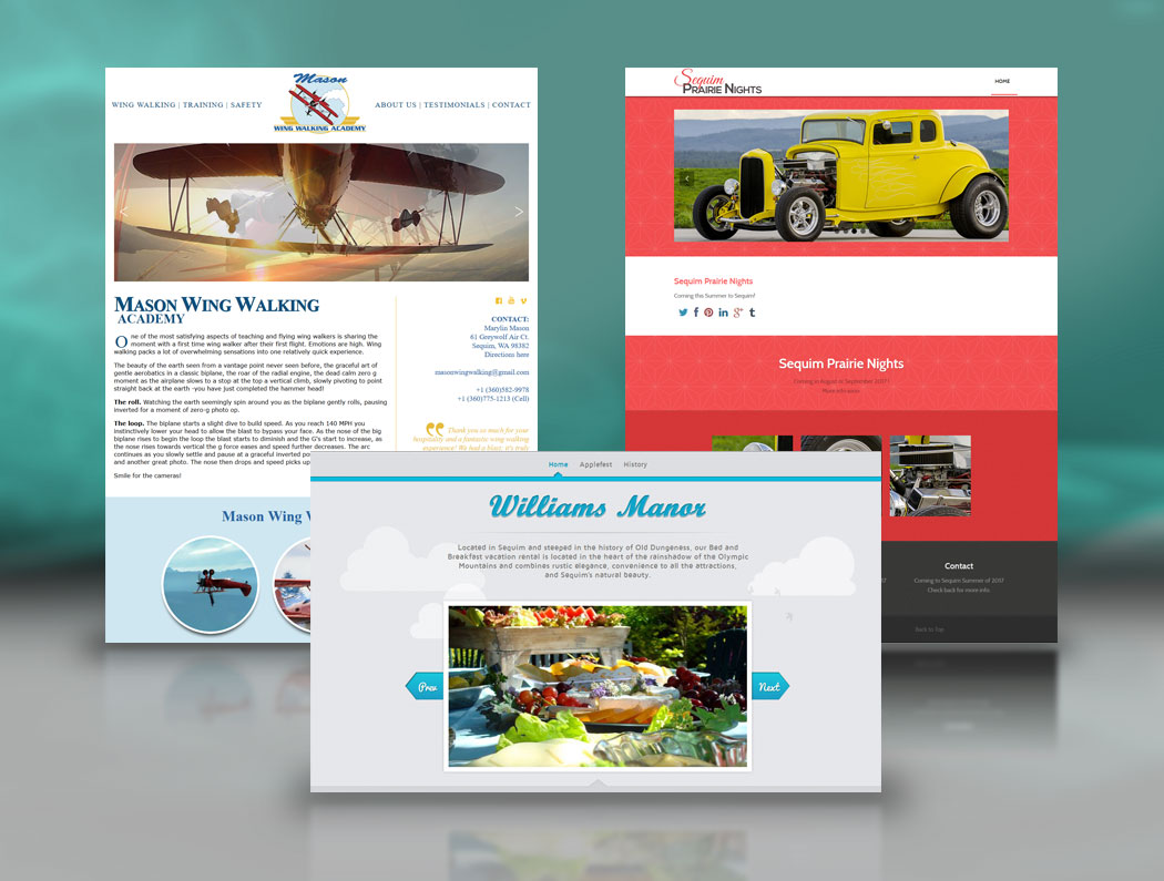 Sequim Website Design